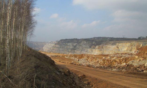 Kamieniołom Ostrówka ciekawostki