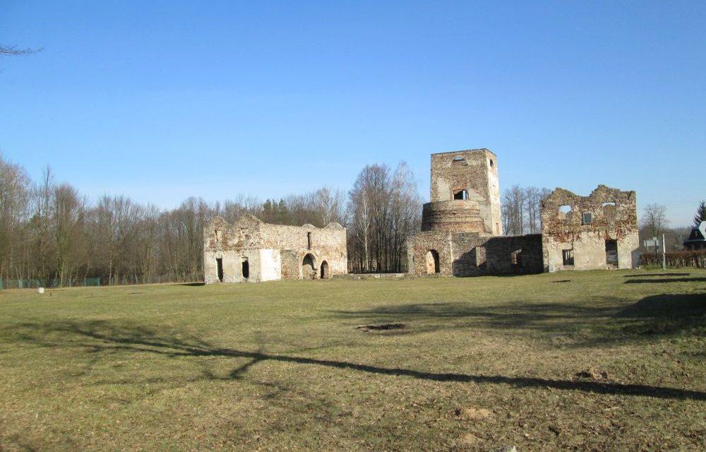 Ruiny huty Józef Samsonów