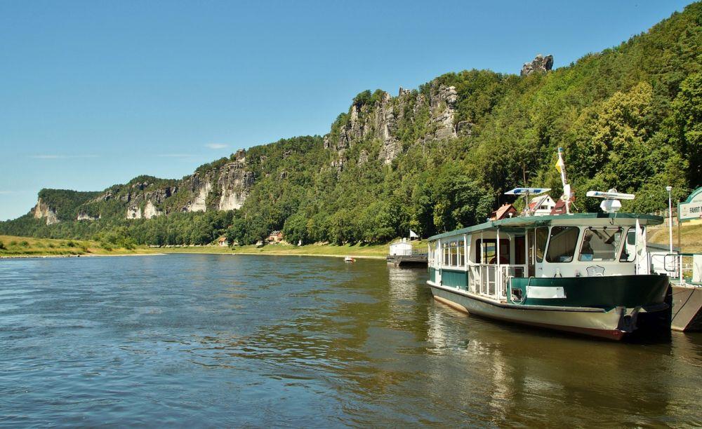Park Narodowy Saskiej Szwajcarii rzeka