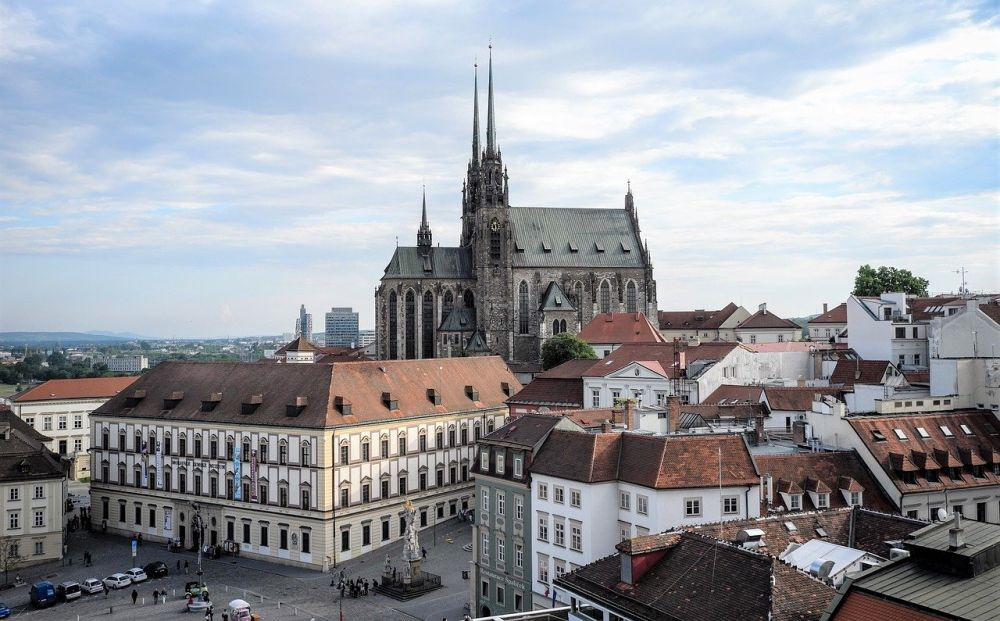 Katedra Świętych Apostołów Piotra i Pawła w Brnie