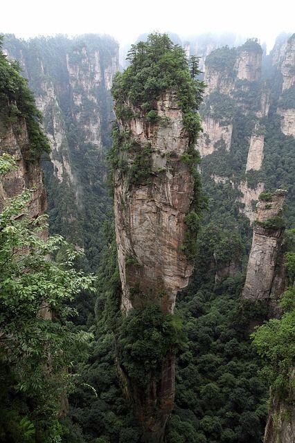 Wulingyuan kolumny
